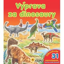 Výprava za dinosaury - obsahuje 31 samolepek k opakovanému použití - 2. vydání