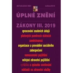 Aktualizace III/2 - Úplné znění zákony III. 2019