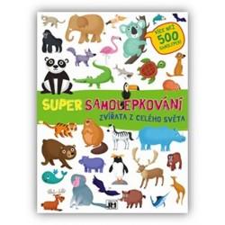 Zvířata s celého světa - Super samolepkování