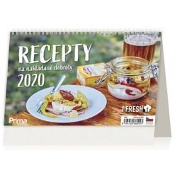 Kalendář stolní 2020 - Recepty na nakládané dobroty