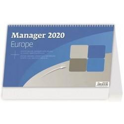 Kalendář stolní 2020 - Manager Europe