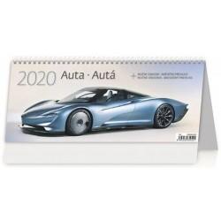 Kalendář stolní 2020 - Auta/Autá