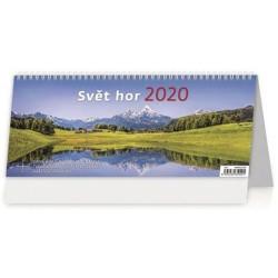 Kalendář stolní 2020 - Svět hor
