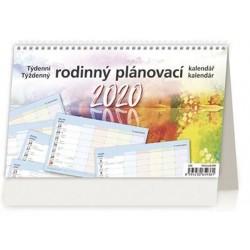 Kalendář stolní 2020 - Rodinný plánovací kalendář