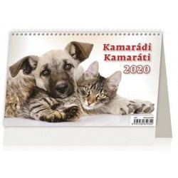 Kalendář stolní 2020 - Kamarádi/Kamaráti