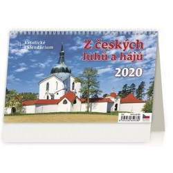 Kalendář stolní 2020 - Z českých luhů a hájů