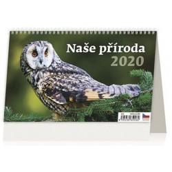 Kalendář stolní 2020 - Naše příroda