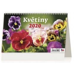 Kalendář stolní 2020 - Květiny