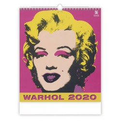 Kalendář nástěnný 2020 - Andy Warhol