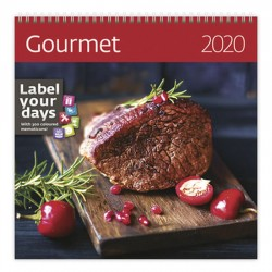 Kalendář nástěnný 2020 - Gourmet
