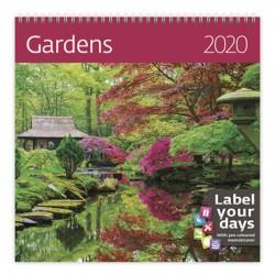 Kalendář nástěnný 2020 - Gardens