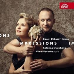 Impressions / Ravel, Debussy, Sluk - CD