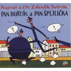 Svěrák : Pan Buřtík a pan Špejlička A - CD
