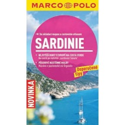 Sardinie - Průvodce se skládací mapou