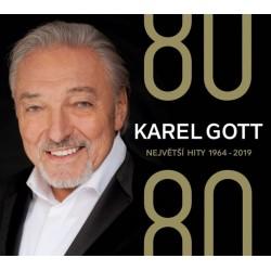 80/80 Největší hity 1964-2019 - 4 CD