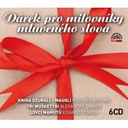Dárek pro milovníky mluveného slova - 6 CD