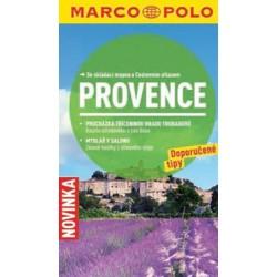 Provence - Průvodce se skládací mapou