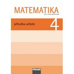 Matematika 4 pro ZŠ - příručka učitele