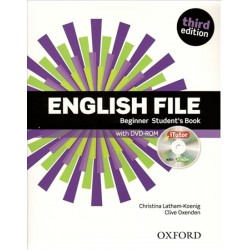 English File third edition Beginner Student´s book (without iTutor CD-ROM)