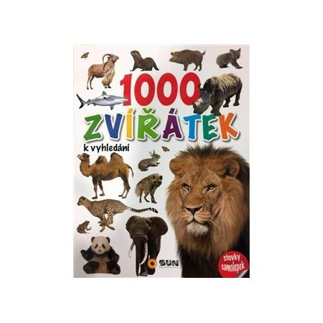1000 zvířátek k vyhledání