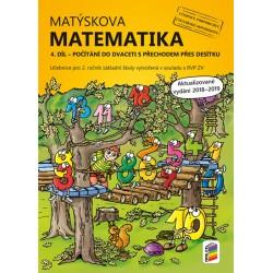 Matýskova matematika, 4. díl – počítání do 20 s přechodem přes 10 - aktualizované vydání 2019