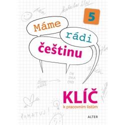 Klíč k Pracovním listům Máme rádi češtinu pro 5. ročník ZŠ