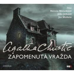 Zapomenutá vražda - CDmp3 (Čte Růžena Merunková, Jitka Ježková, Jan Meduna)