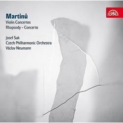 Koncerty pro housle a orchestr č. 1 a 2 - CD