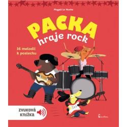 Packa hraje rock - zvuková knížka