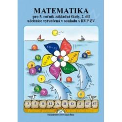 Matematika pro 5. ročník ZŠ, 2. díl - Učebnice