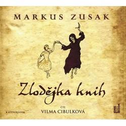 Zlodějka knih - 2 CDmp3 (Čte Vilma Cibulková)