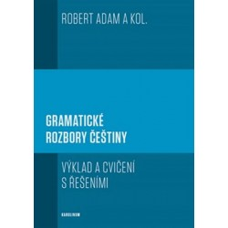 Gramatické rozbory češtiny - Výklad a cvičení s řešeními
