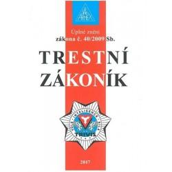 Trestní zákoník č. 40/2009 Sb. - 9. vydání