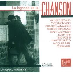 La Légende de la Chanson - 10 CD