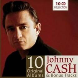Johny Cash - 10 Original Albums & bonus tracks - 10 CD