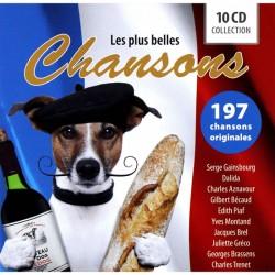 Les Plus Belles Chansons - 10 CD