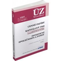 ÚZ 1337 Cenné papíry