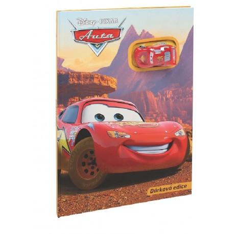 Auta - Dárková edice (kniha s autíčkem)