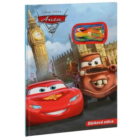 Auta 2 - Dárková edice (kniha s autíčkem)