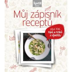 Můj zápisník receptů (Edice Apetit)