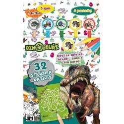 Dinosauři - Aktivity s gumami