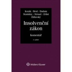 Insolvenční zákon. Komentář
