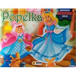 Popelka - Prostorová kniha
