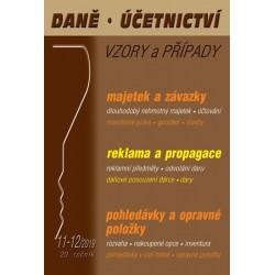 DÚVaP 11-12/2019 Majetek a závazky - Reklama a propagace, Pohledávky, Opravné položky, Daně, Účetnictví