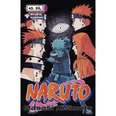 Naruto 45 - Bitevní pole Konoha