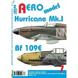 AEROmodel 6 - Hawker Hurricane Mk.I, Bf 109E