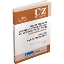 ÚZ 1340 Mezinárodní justiční spolupráce