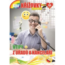 Křížovky speciál 2/2019 - Vtipy z úřadů a kanceláří