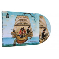 Kapitán Adorabl a bambitka černokněžníka Vorána - audioknihovna