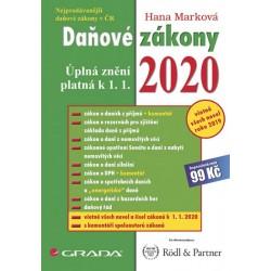 Daňové zákony 2020 - Úplná znění k 1. 1. 2020